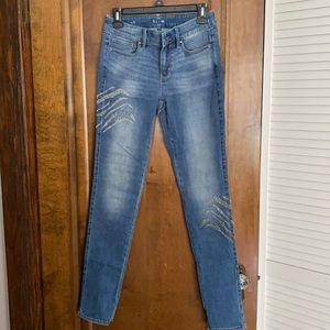 White House Black Market Slim Midrise Jeans